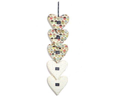 Διακοσμητικές καρδιές Big Love Cupcakes