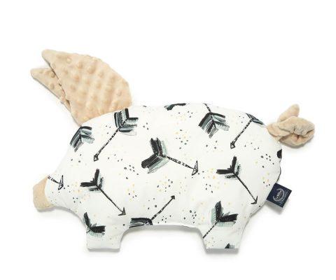 Βρεφικό Μαξιλαράκι Sleepy Pig Royal Arrows-Latte