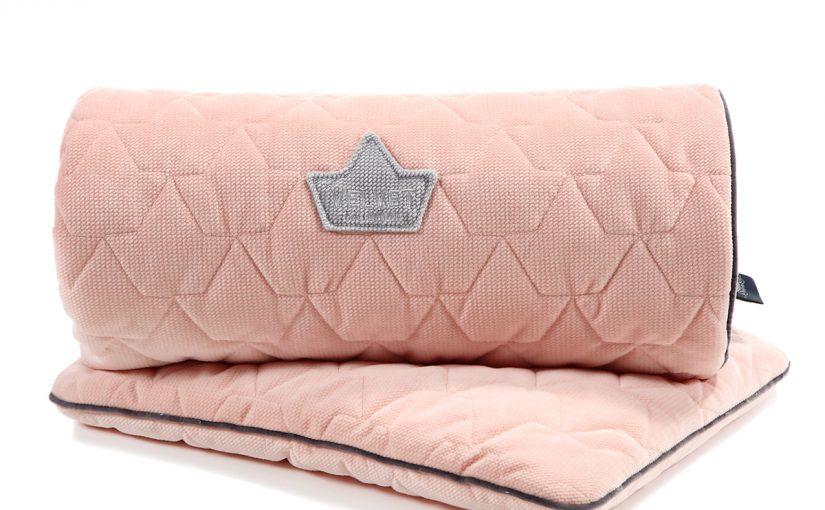 Παπλωματάκι (100×80) με Μαξιλαράκι – Powder Pink