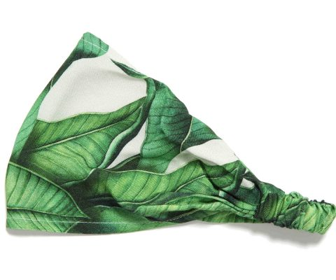 Bamboo Bandana Banana Leaves
