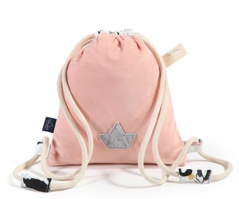 VelvetBackpackPowderPink