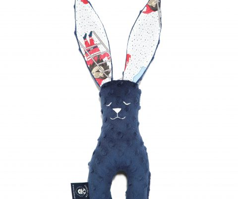 Βρεφικό παιχνίδι Small Bunny Navy-Braveheart Lion Navy