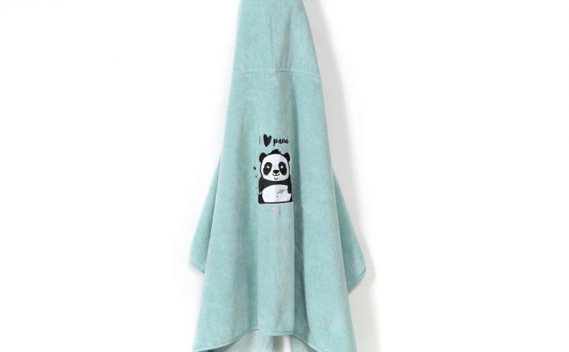 Πετσέτα Bamboo Kid Mint # i love Panda